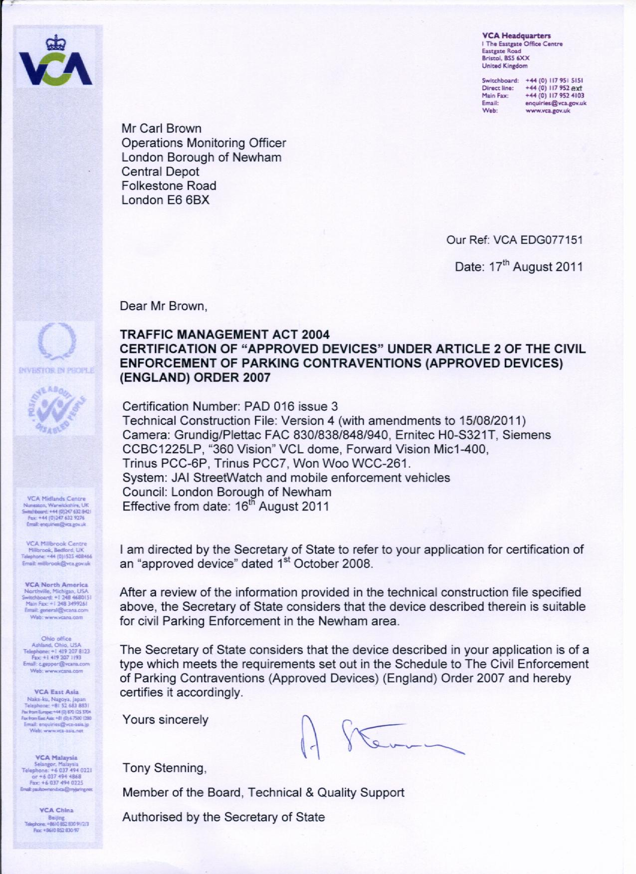 Cctv certification a freedom of information request to newham 259k download 1betcityfo Gallery