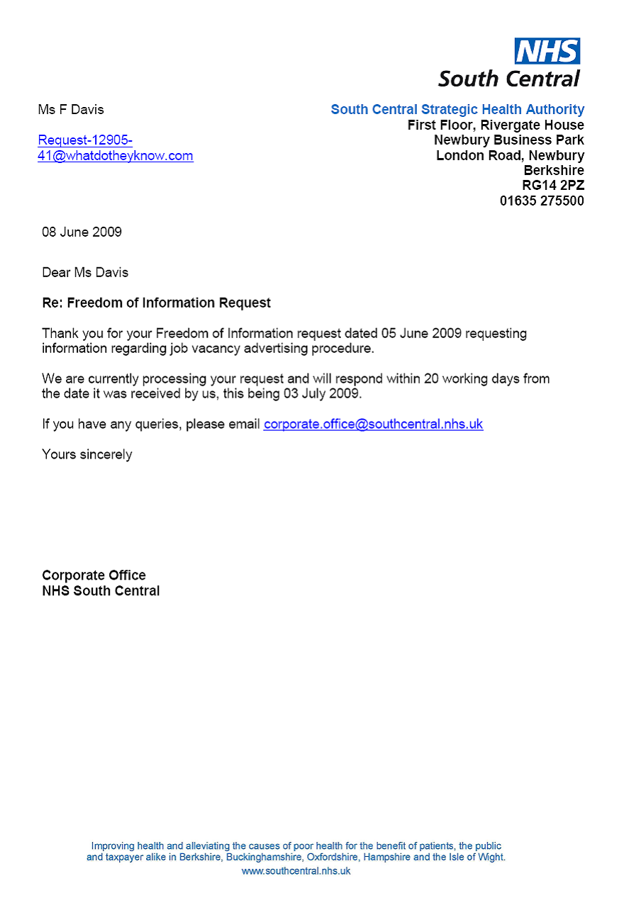 how to address cover letter to recruitment agency - job vacancy advertising procedure a freedom of