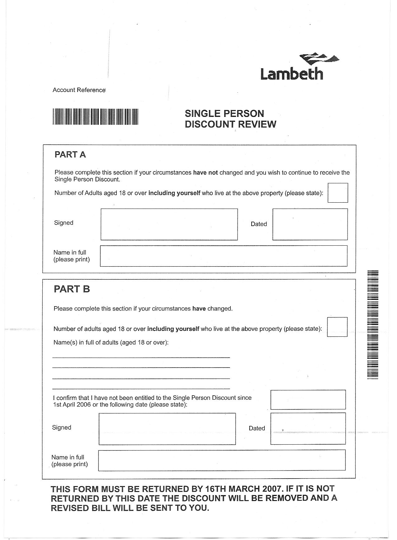 how to pay council tax in lambeth
