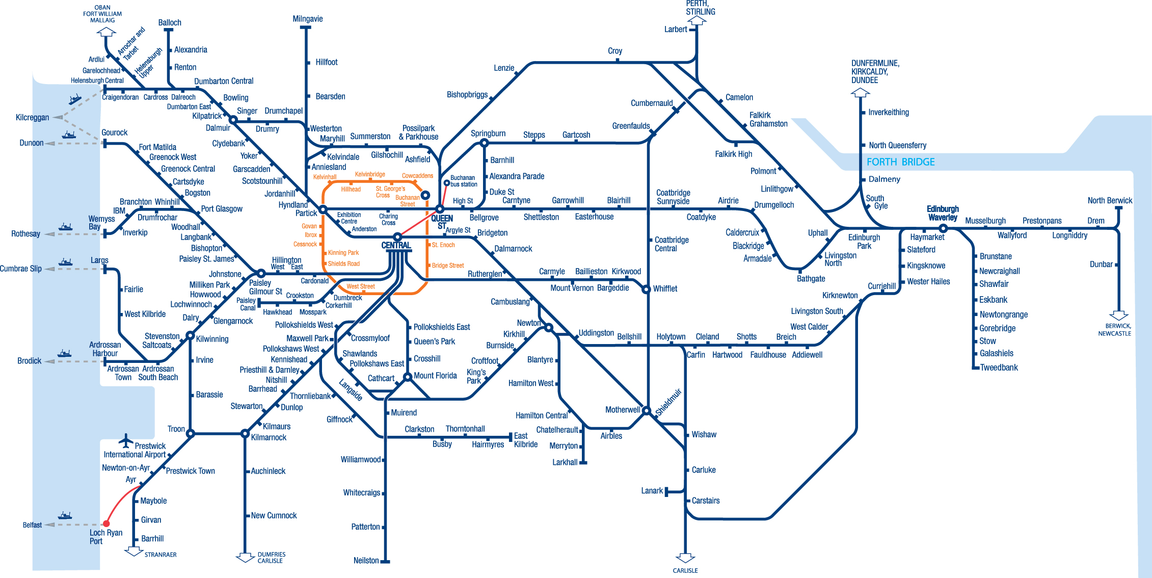 Train Routes In Scotland Map.Full Station Map Of Scotland 2015 A Freedom Of Information Request