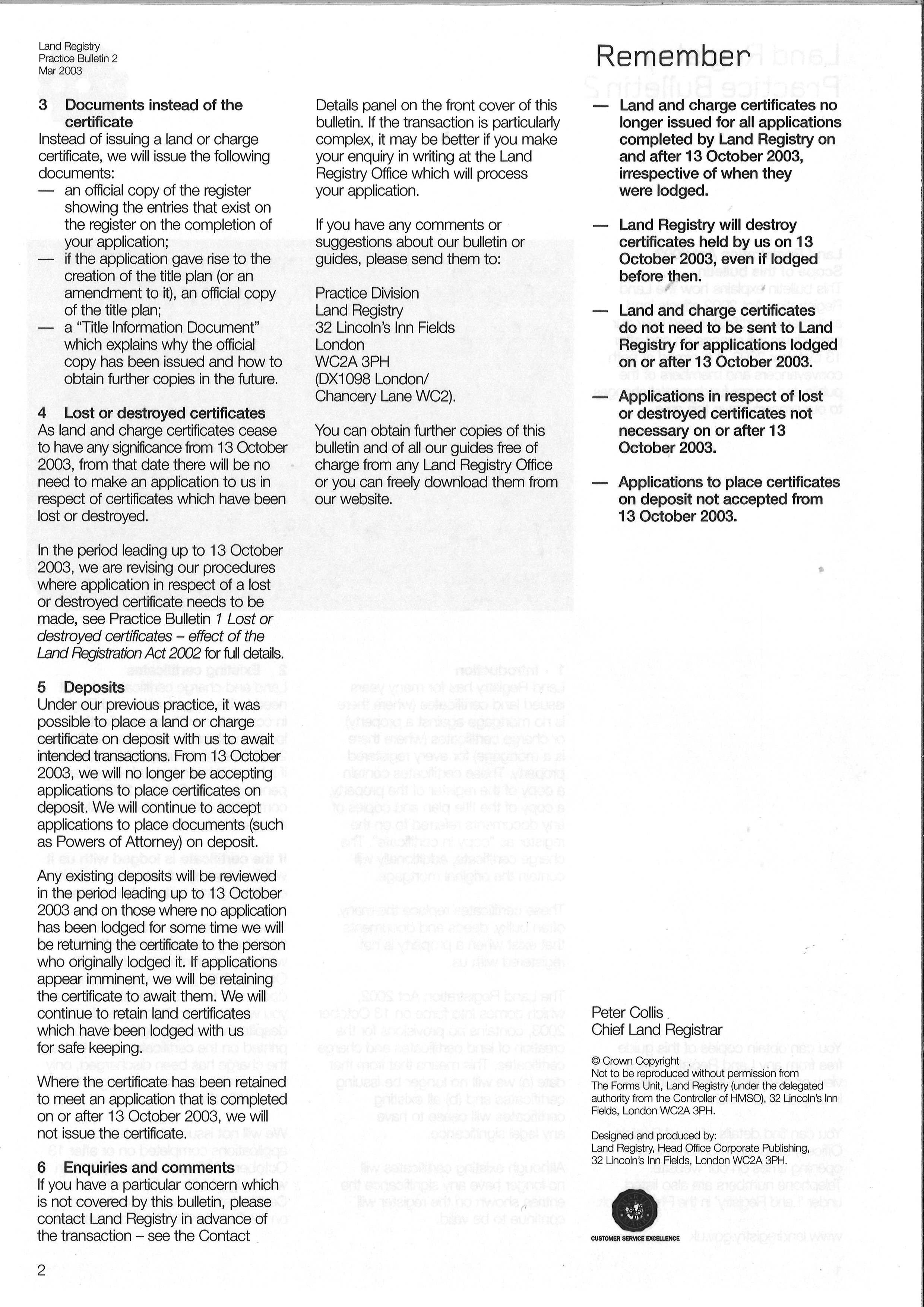 Land registry certificate of deeds coats of arms of birkenhead 12m download xflitez Images